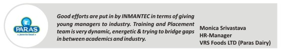 inmantec recruiters review-paras-dairy