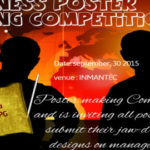 Business poster making competetion 2015