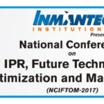 National Conference on IPR, Future Technology Optimization and Management