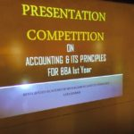 Presentation Competition For BBA 1st semester