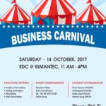 Business Carnival on 14th October'17 for INMANTEC Students by EDC Department