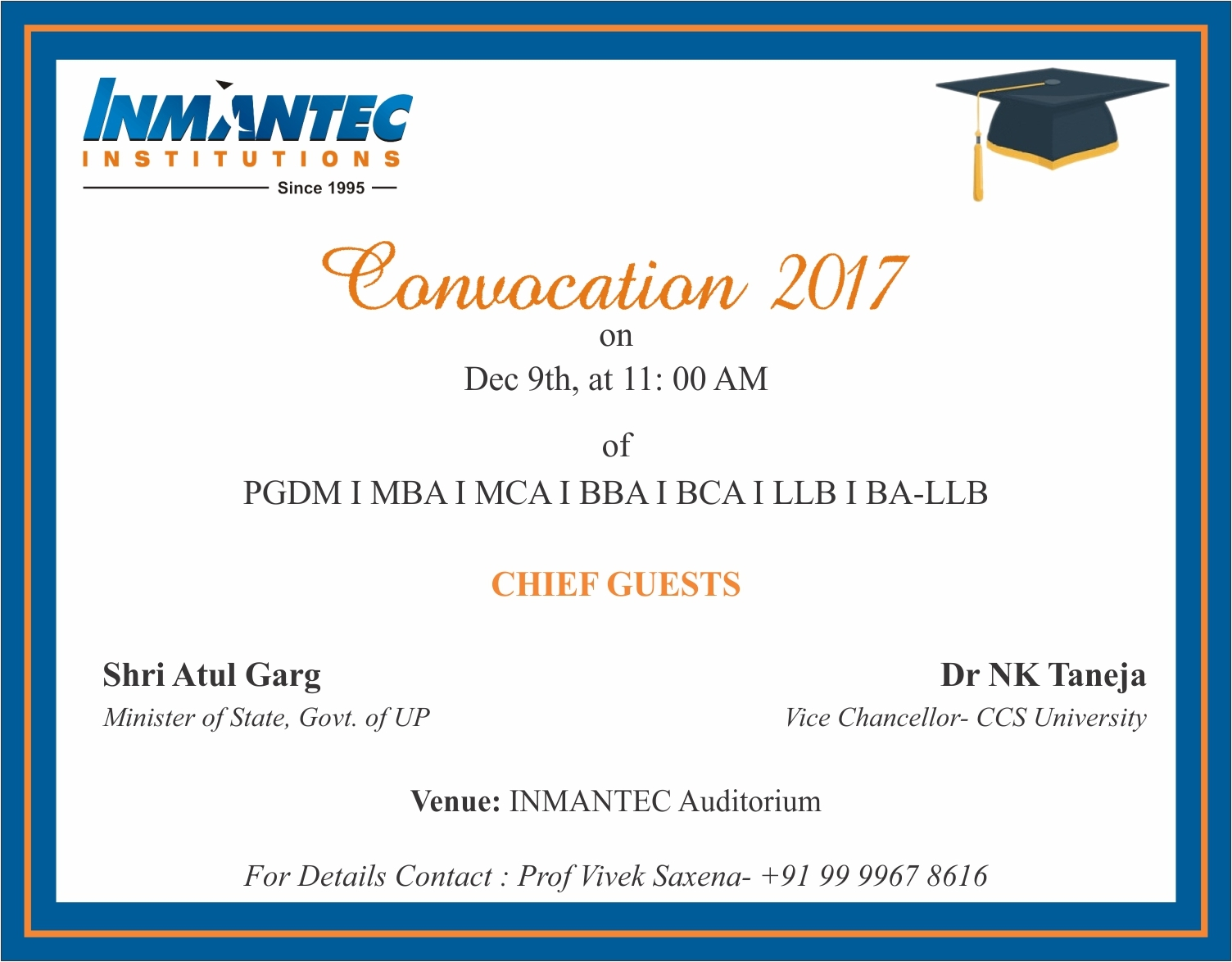 convocation 2017
