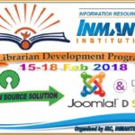 4 Days Librarian Development Program (LDP) on Open Source Content Management Software Joomla and Digital Repository Software DSpace