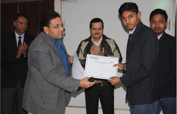 IIIrd Prize Winner (INMANTEC)