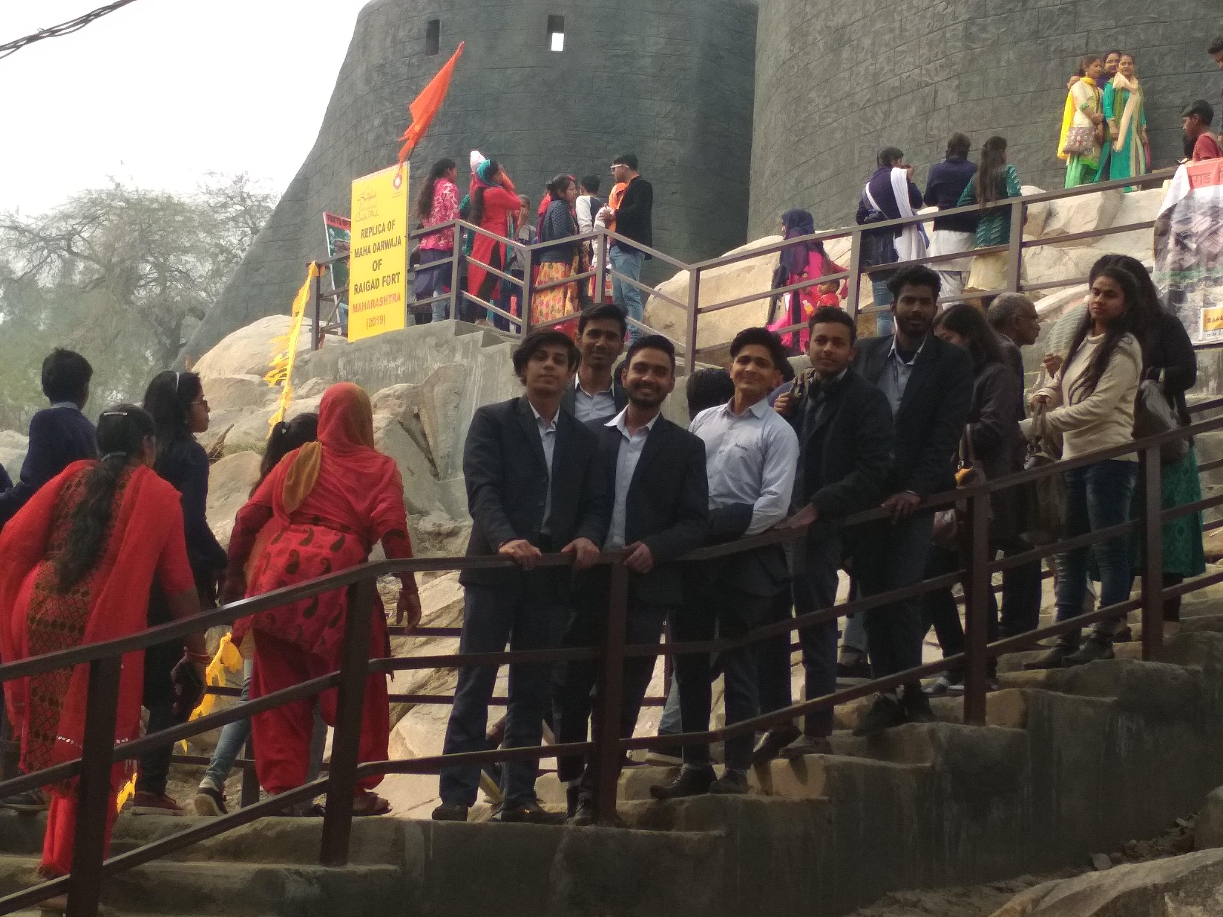 Visit to 33rd Surajkund Craft Mela