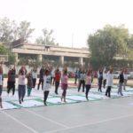 5th International Yoga Day Celebrated at INMANTEC