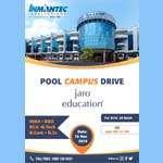 Pool Campus Drive – Jaro Education For MBA, BBA, BCA, B.Tec, B.Com, B.Sc