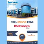 Pool Campus Drive – Mahindra Rise For MBA PGDM