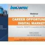 Webinar on Career Opportunities in Digital Marketing